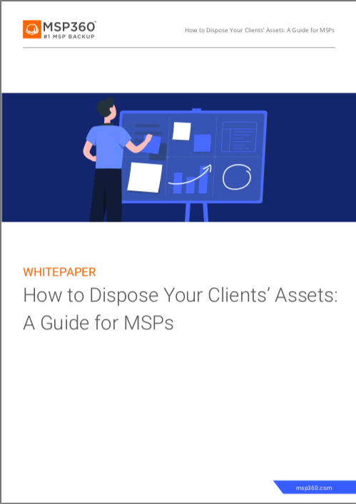 How to Dispose Your Clients' Assets: A Guide for MSPs