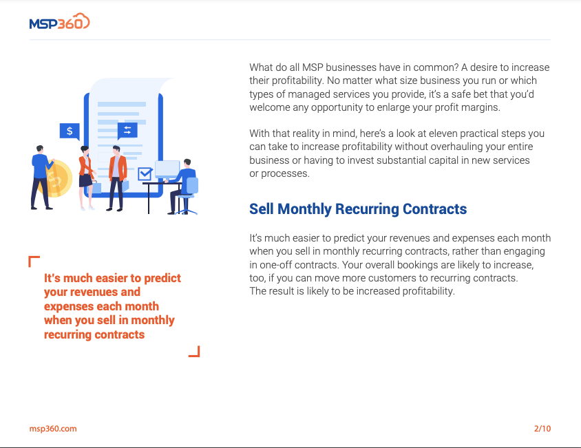 11 Practical Tips to Increase Your MSP Profitability preview 4