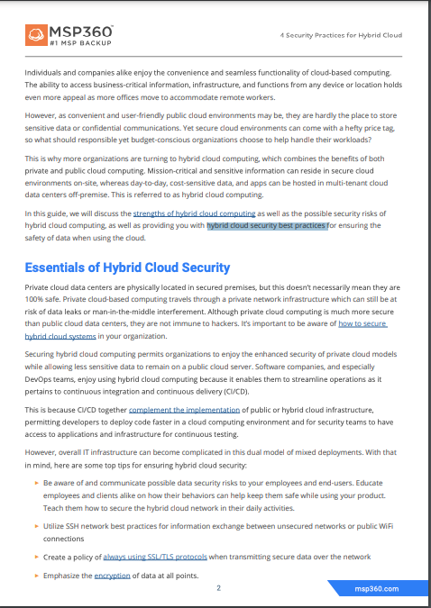 4 security practices for hybrid cloud preview 4