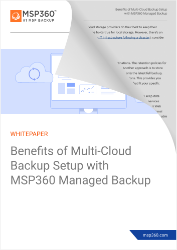 Benefits of multi cloud backup setup with MSP360 MBS lp hover