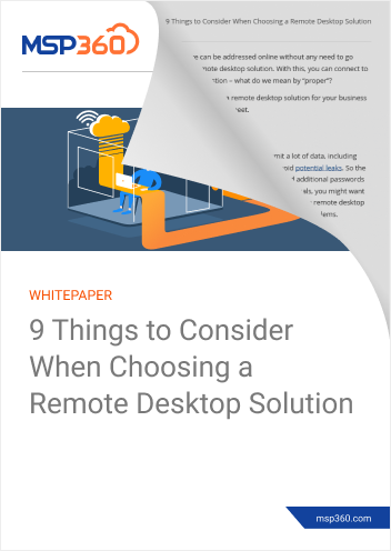Choosing a Remote Desktop Solution preview 2