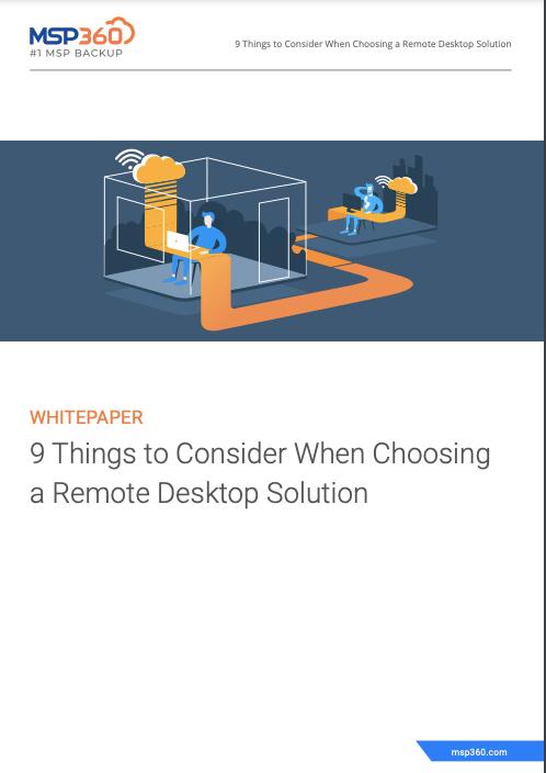 Choosing a Remote Desktop Solution preview 3