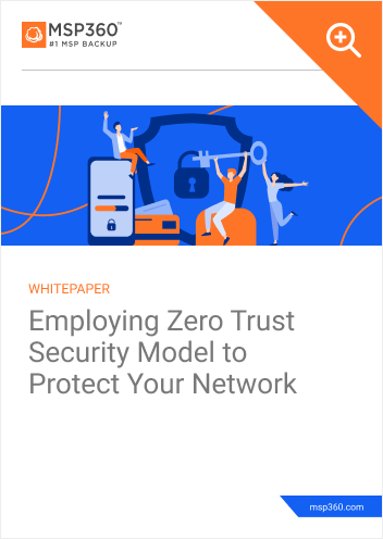 Employing Zero Trust Security Model to Protect Your Network cover