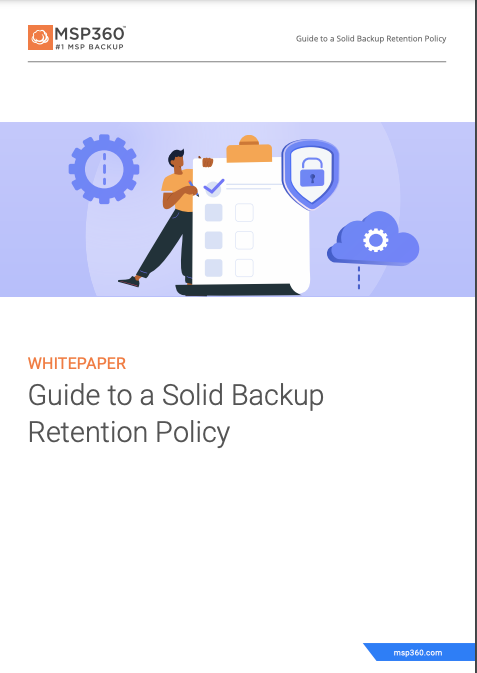 Guide to a Solid Backup Retention Policy preview 3
