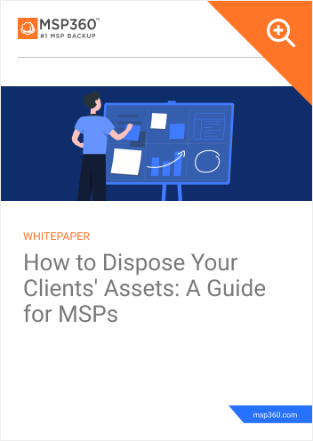 How to Dispose Your Clients Assets