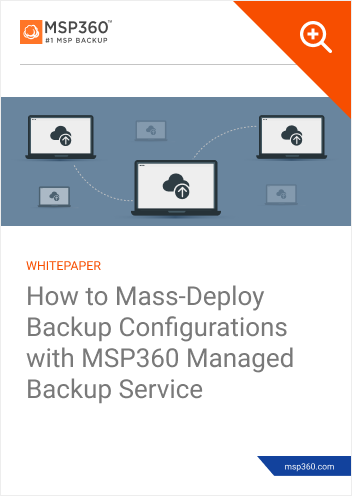 How to Mass-Deploy Backup Configurations preview 1