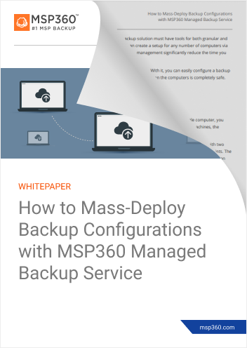 How to Mass-Deploy Backup Configurations preview 2