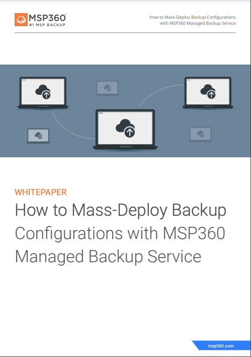 How to Mass-Deploy Backup Configurations preview 3