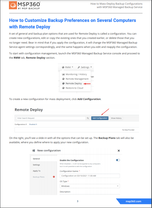 How to Mass-Deploy Backup Configurations preview 5