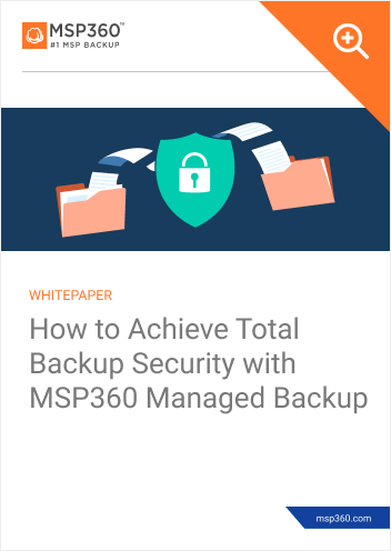 How to achieve total backup security preview 1