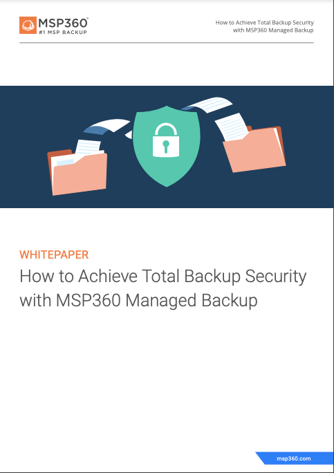 How to achieve total backup security preview 3