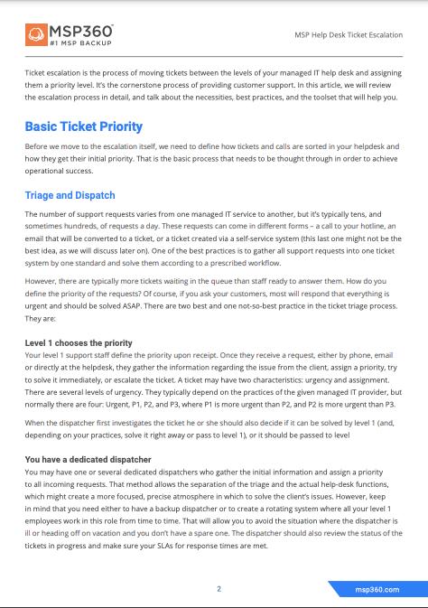 MSP Helpdesk Ticket Escalation preview 4