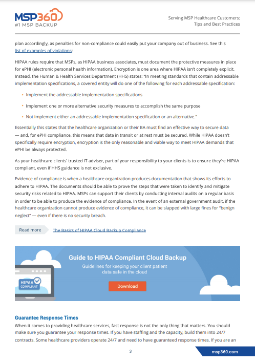 Serving MSP Healthcare Customers preview 5