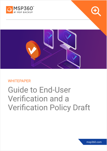 User verification guide preview 1