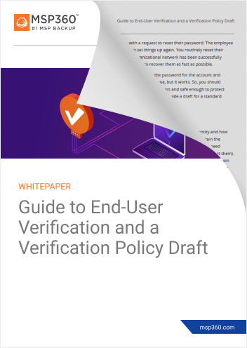 User verification guide preview 2