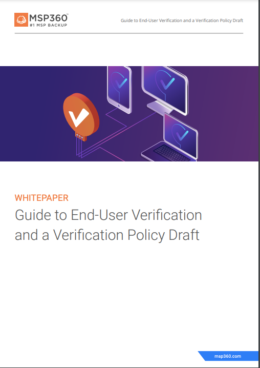 User verification guide preview 3
