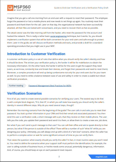 User verification guide preview 4