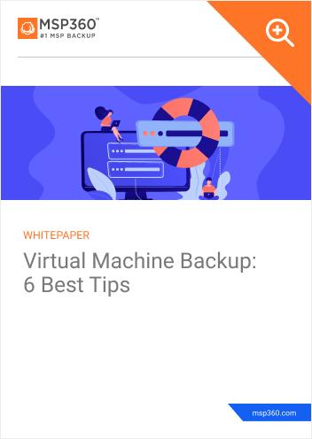 VM backup preview 1