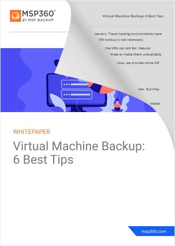 VM backup preview 2
