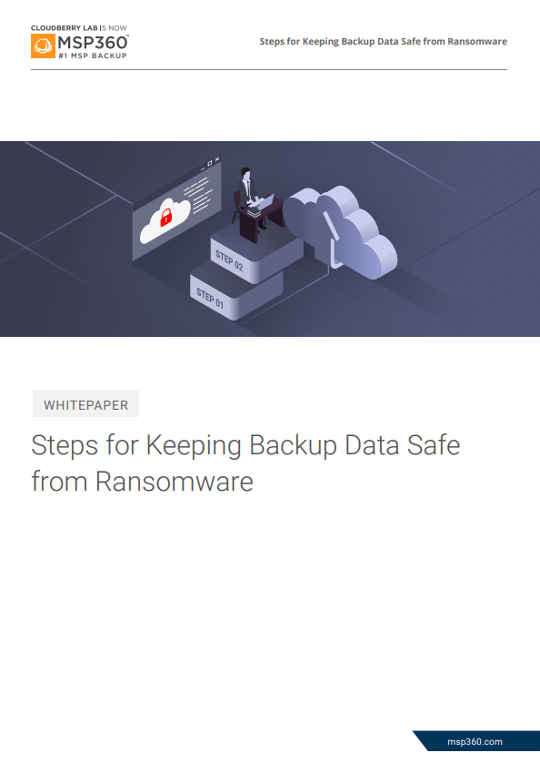 keeping backup data safe from ransomware preview