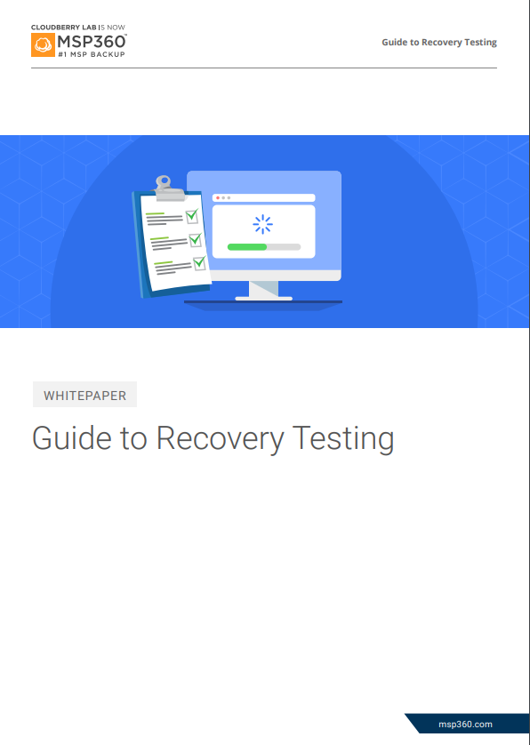 recovery testing preview